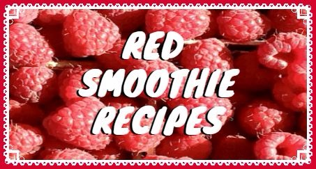 Red smoothieレシピまとめ
